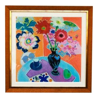Still Life With Matisse, #1 Framed Fine Art Giclée on Archival Paper For Sale