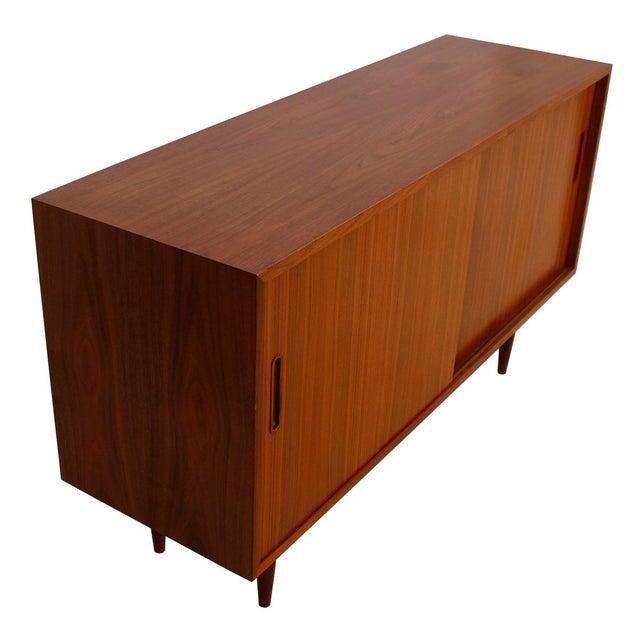 Danish Modern Walnut Sideboard/Media Cabinet - Image 3 of 10