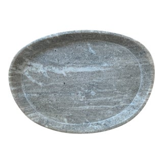 Featured in The 2020 San Francisco Decorator Showcase — Gray Marble Tray For Sale