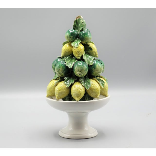 Italian Lemon & Lime Fruit Topiary For Sale In Houston - Image 6 of 6