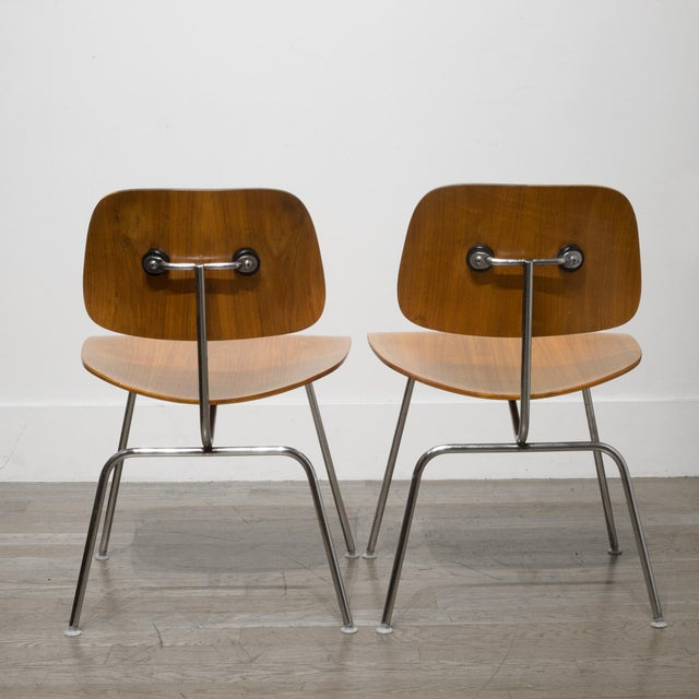 Early Ray and Charles Eames for Herman Miller Dcm Chairs, Circa 1950- Price Is Per Chair For Sale - Image 12 of 13