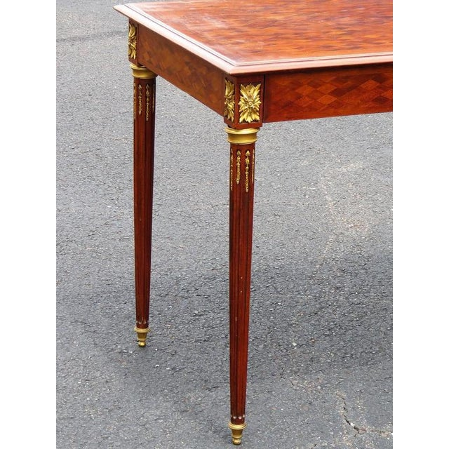 Louis XV Louis XV Style Parquetry Inlaid Ladie's Desk For Sale - Image 3 of 8