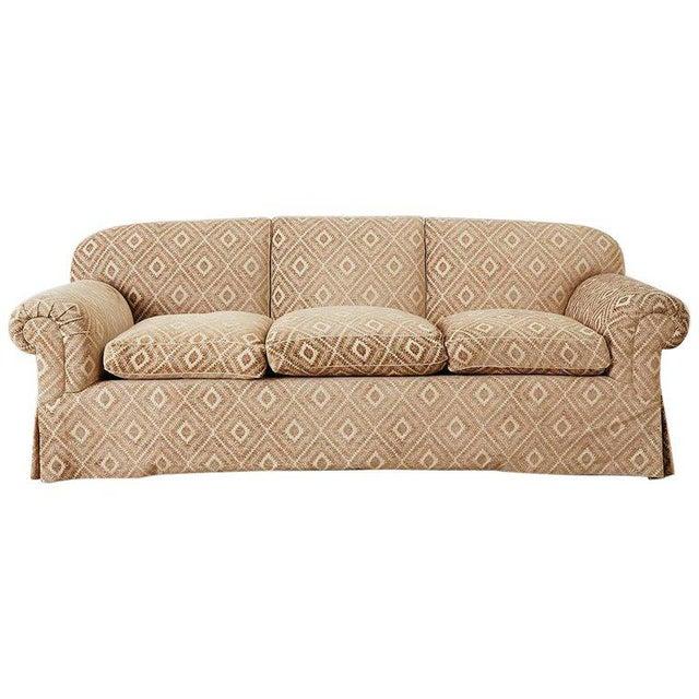 Jonas New York English Style Three-Seat Sofa For Sale - Image 13 of 13