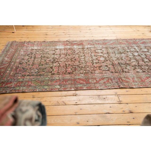 "Old New House Antique Distressed Karabagh Rug Runner - 5'4"" X 13' For Sale - Image 4 of 13"