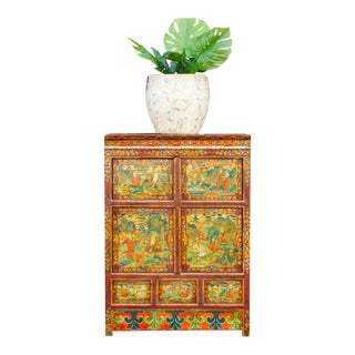 Early 20th Century Tibetan Buffet Cabinet For Sale
