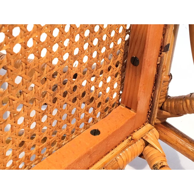 Bamboo Chinese Chippendale Cockpen Cane Seat Dining Chairs - Set of 10 For Sale - Image 12 of 13