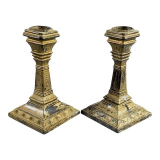 Regency Style Candlesticks - A Pair For Sale