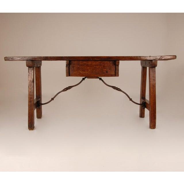 Antique Renaissance Spanish Console Table For Sale - Image 4 of 12