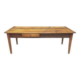 Mid 19th Century French Farm Dining Table For Sale