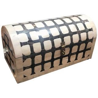 Maitland Smith Diminutive Table Top Trunk Box