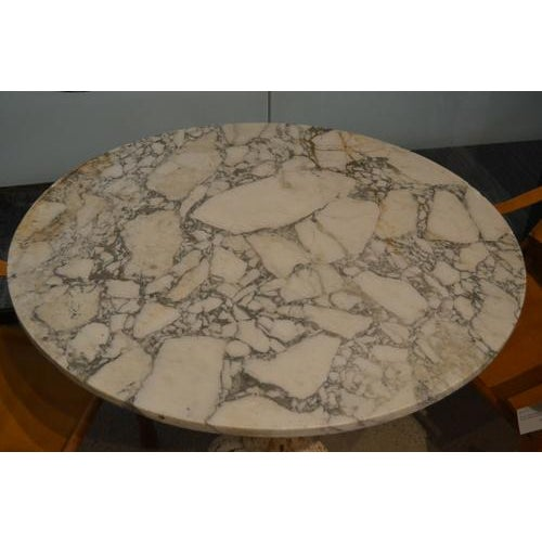 19th Century Marble Top Gueridon Center Table For Sale - Image 5 of 12
