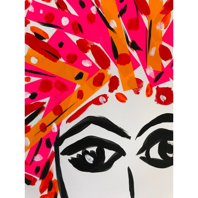 2010s Pop Art Tony Marine Contemporary Portrait Painting For Sale - Image 5 of 6