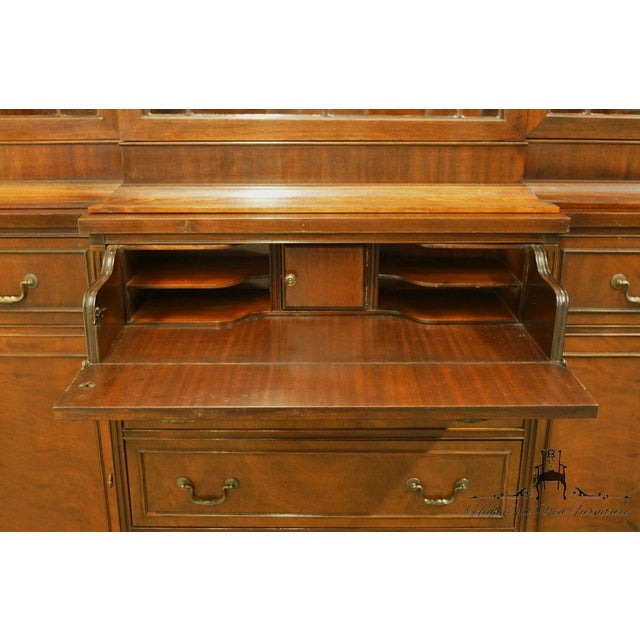 1940s 1940's Vintage Duncan Phyfe Secretary China Cabinet For Sale - Image 5 of 11