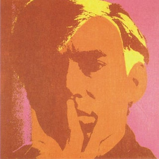 Andy Warhol, Self Portrait-Orange, Offset Lithograph, 2000 For Sale