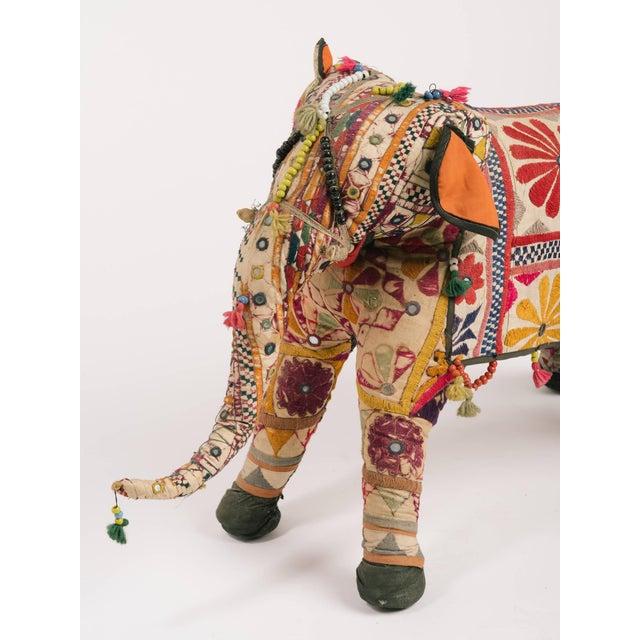 Folk Art 1970s Indian Elephant For Sale - Image 3 of 8