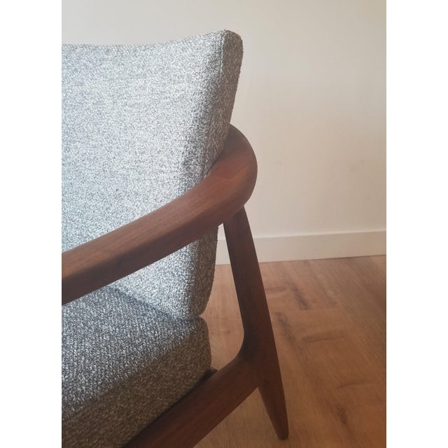Brown 1950s Folke Ohlsson Armchair 72-C for Dux For Sale - Image 8 of 13