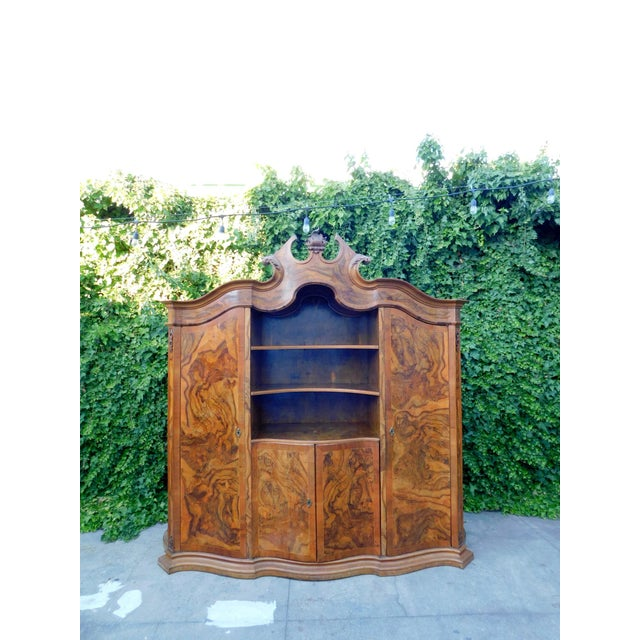 1920s French Oakwood Hutch For Sale - Image 13 of 13