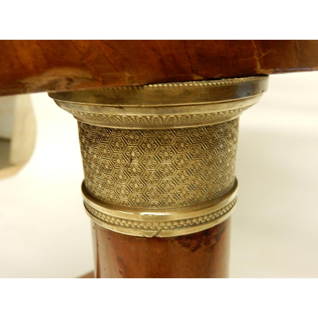 Early 19th Century Early 19th Century French Empire Gueridon For Sale - Image 5 of 7