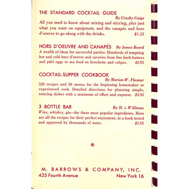 """The Standard Cocktail Guide"" Book - Image 2 of 6"