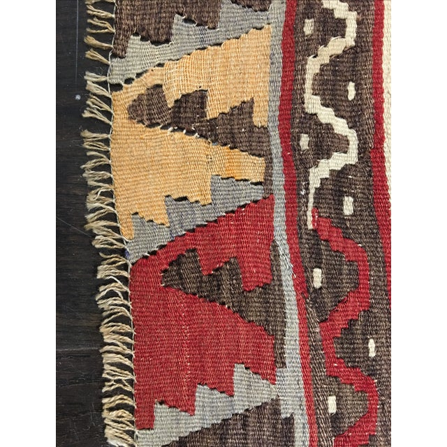 1920s Turkish Kilim - 8′1″ × 11′9″ - Image 8 of 8