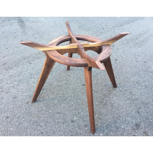 Mid-Century Modern Adrian Pearsall Compass Dining Table For Sale - Image 3 of 5