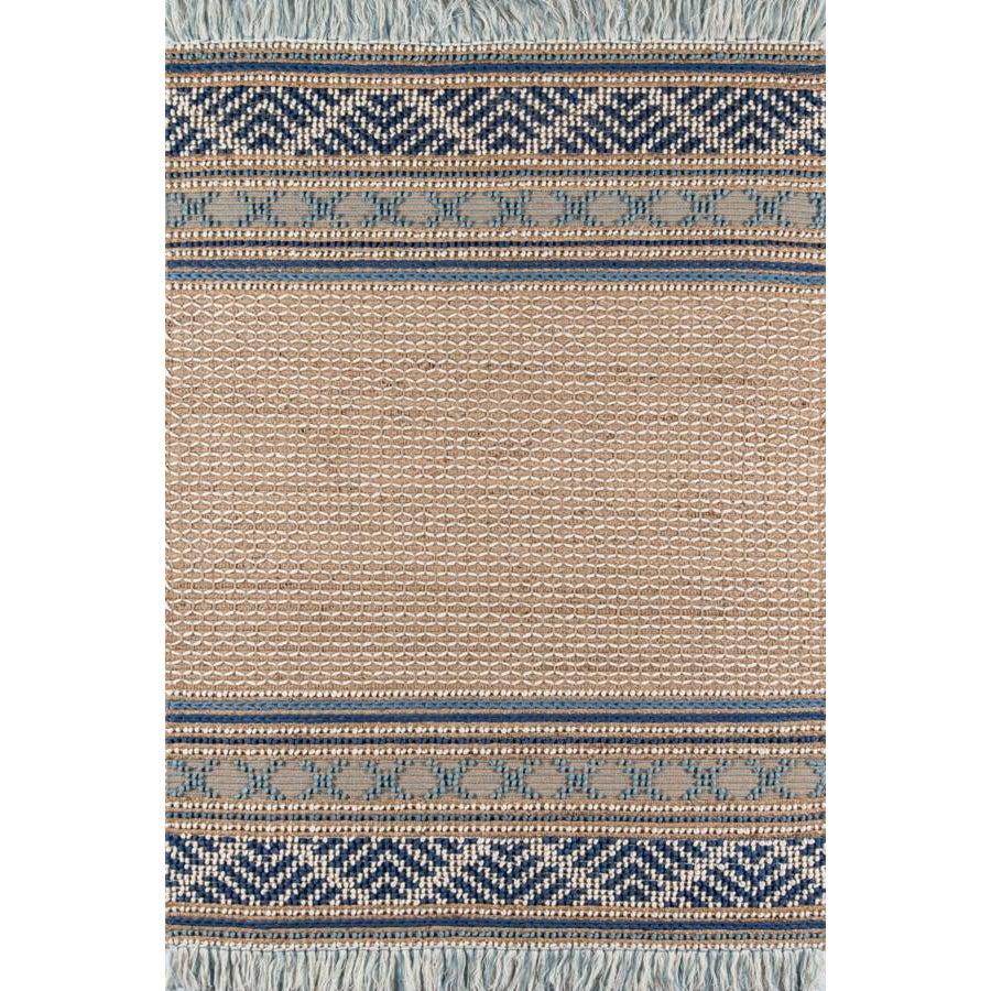 Esme Blue Hand Woven Area Rug 6' X 9