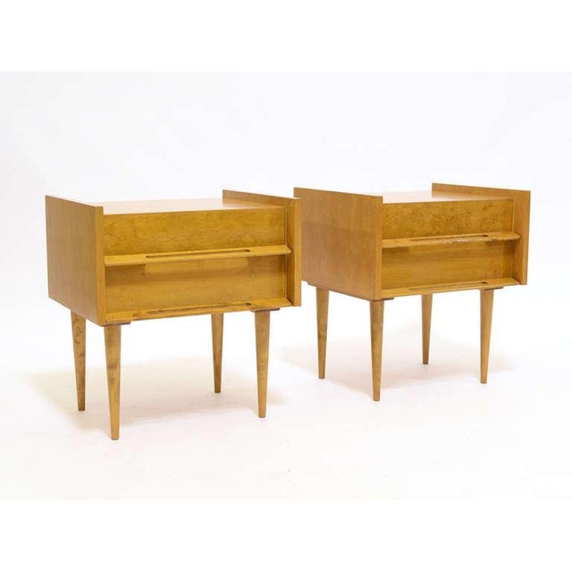 Tan Pair Of Nightstands/ End Tables By Edmond Spence For Sale - Image 8 of 8