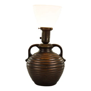 20th Century Ceramic Water Jug Table Lamp For Sale