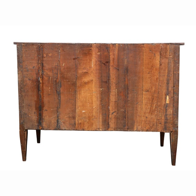 Italian Neoclassic Marquetry Inlaid Commode For Sale - Image 12 of 13