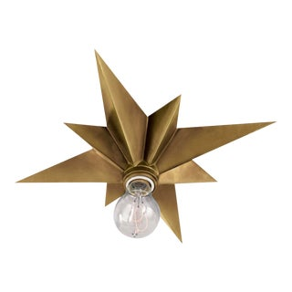 Visual Comfort Flushmount Star Ceiling Light For Sale