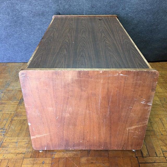 Vintage Modern Executive Desk - Image 9 of 10