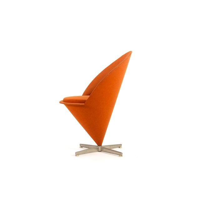 1950s 1950s Contemporary First Series Verner Panton Cone Chair For Sale - Image 5 of 11
