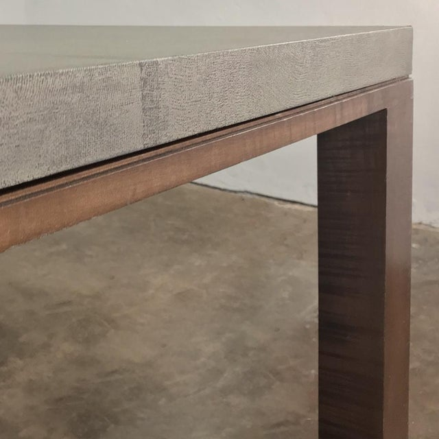 Early 21st Century Designer Table & 4 Matching Benches by Christian Liaigre For Sale - Image 5 of 13