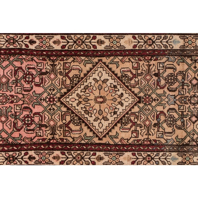 """Vintage Persian Rug, 2'8"""" X 9'7"""" For Sale - Image 4 of 10"""