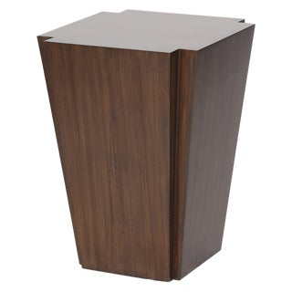 Modern Carver Accent Table For Sale