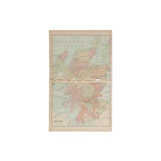 Cram's 1907 Map of Scotland