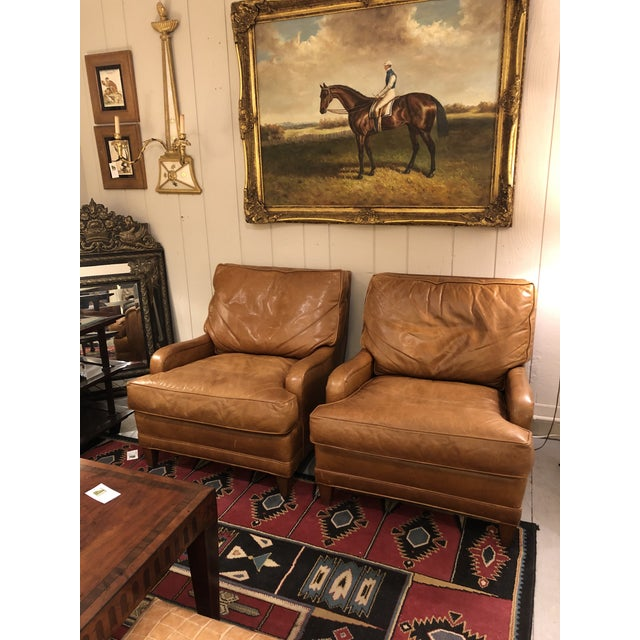 Nancy Corzine Club Chairs -A Pair For Sale - Image 11 of 11