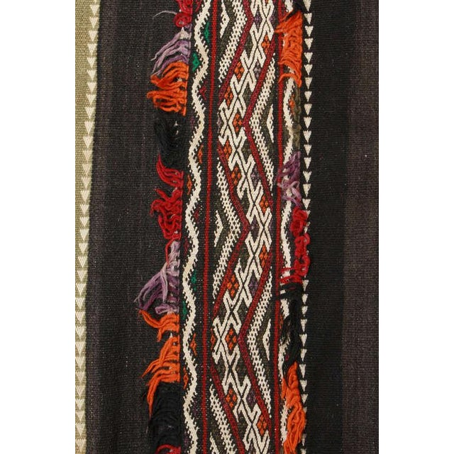 Vintage Moroccan Tribal Kilim Rug North Africa For Sale In Los Angeles - Image 6 of 10