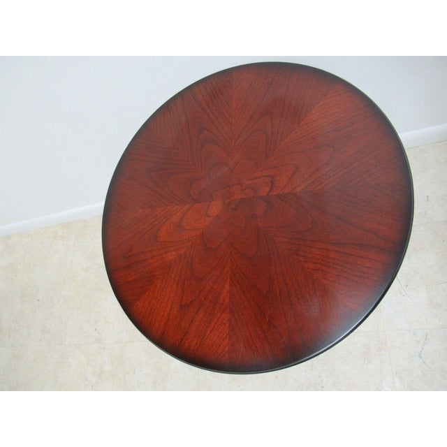 Traditional Bombay Company Cherry End Table For Sale - Image 3 of 11