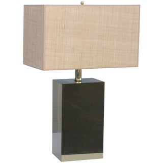 George Kovacs Modernist Brass Table Lamp For Sale
