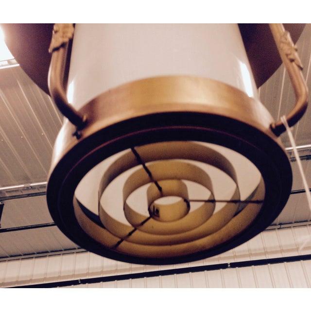 Art Deco Style Large Pendant Light - Image 8 of 9