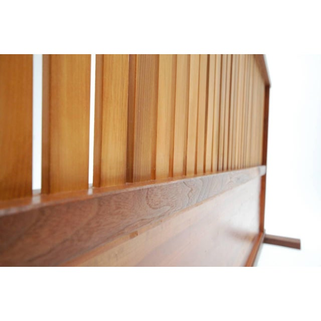 Small Japanese style room divider designed and built by Japanese born Teruo Hara (1929-1986). Hara, best known for his...