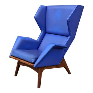 Vintage Mid-Century Adrian Pearsall for Craft Associates Custom Chair For Sale