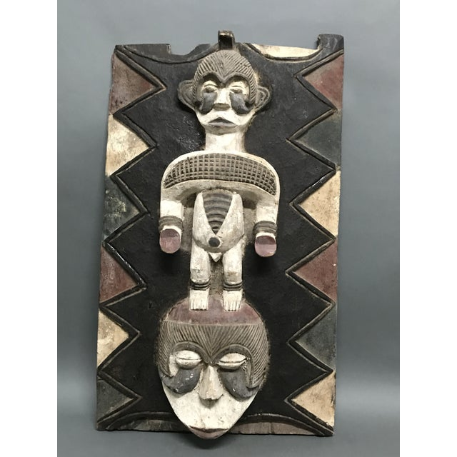 African African Art Tribal Art Ibo Door For Sale - Image 3 of 8