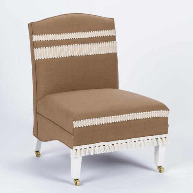 Casa Cosima Sintra Chair in Hazel Linen For Sale - Image 9 of 9