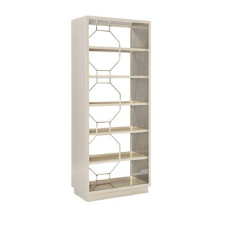 Caracole Modern Going Up Display Cabinet For Sale