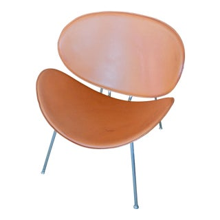 Vintage Orange Slice Chair, Made in Italy For Sale