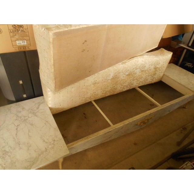 Hollywood Regency-Style Platform Sofa - Image 5 of 8