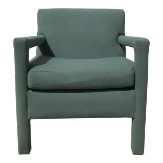 1960s Vintage Parsons Club Chair For Sale