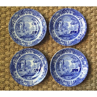 Spode Vintage Blue Italian Saucers - Set of 4 Preview